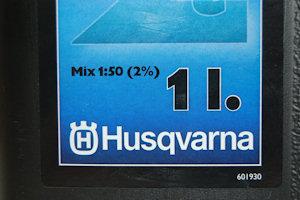 Логотп настоящего моторного масла Husqvarna HP