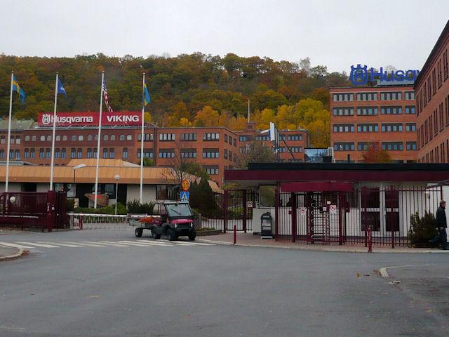 Завод компании Husqvarna в шведском городе Huskvarna (фото: motopila.ru)