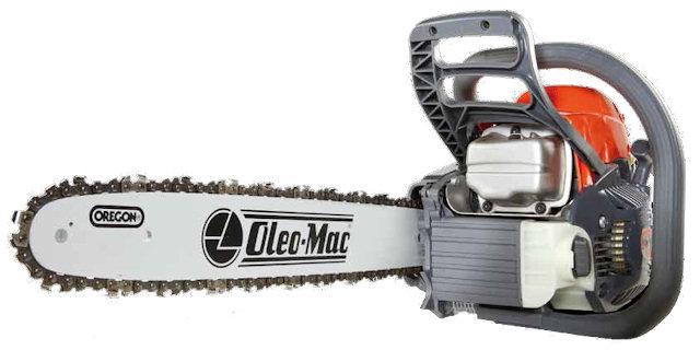 Бензопила Oleo-Mac GS 35C. Вид спереди. [фото: oleomac.it]